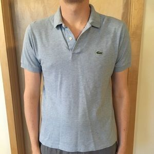 Heather Blue Lacoste Polo